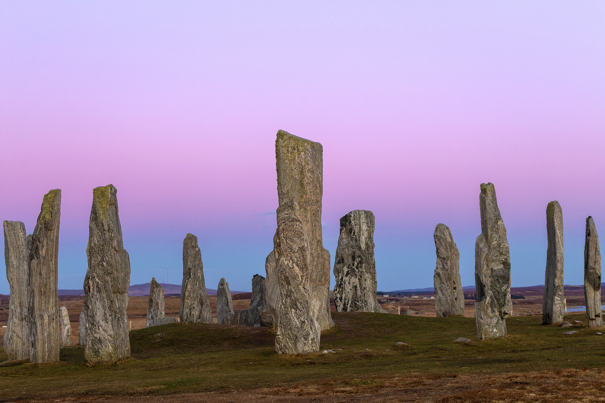 Callanish, after Sunset…