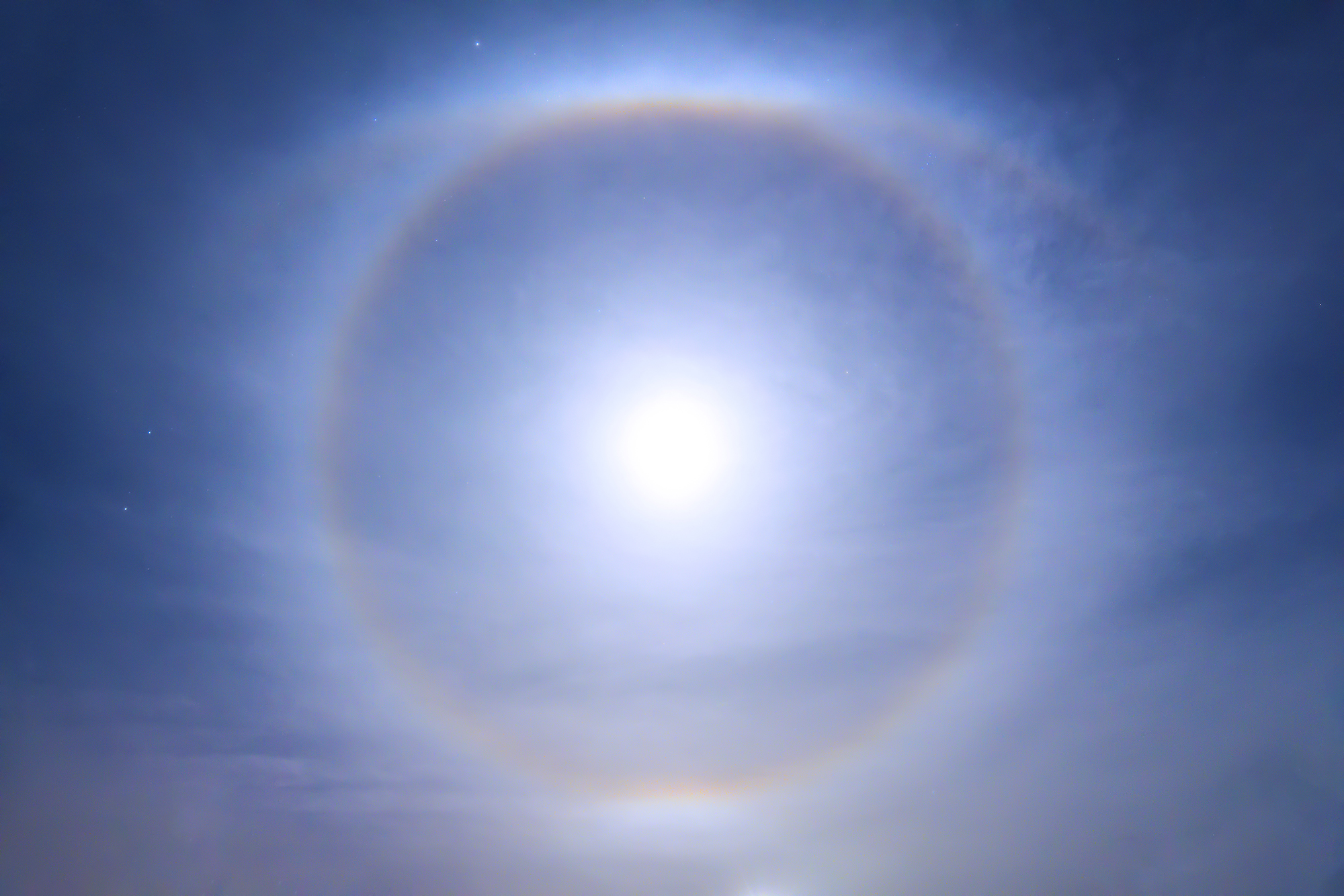 Super Moon Halo