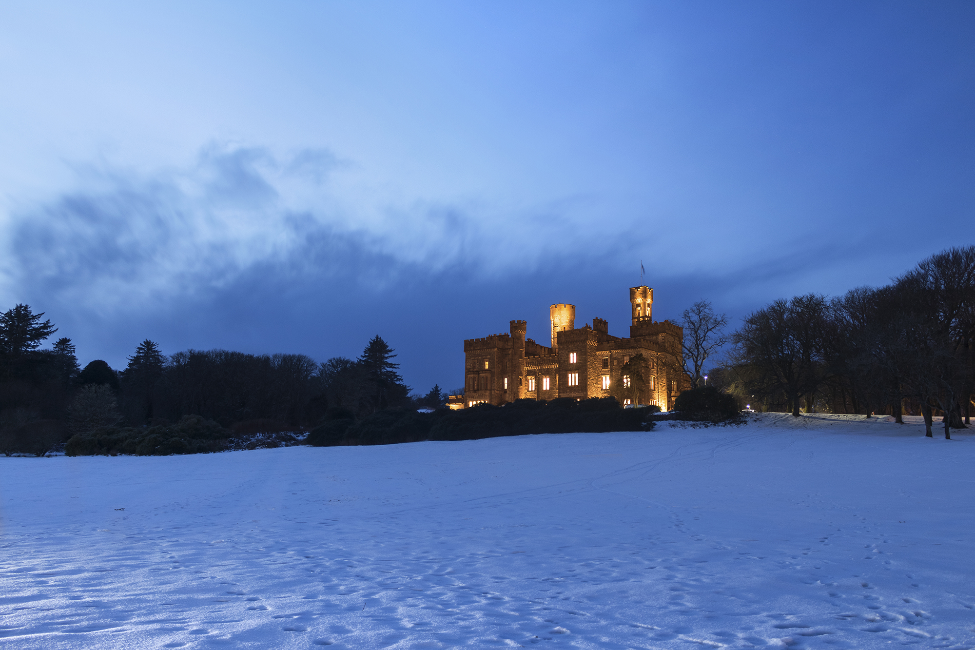 Wintry Castle